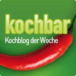 Kochblog der Woche bei Kochbar