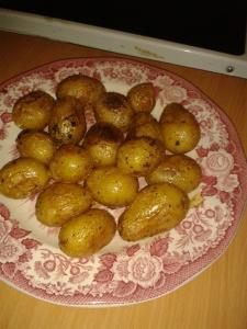 Kräuter Kartoffeln