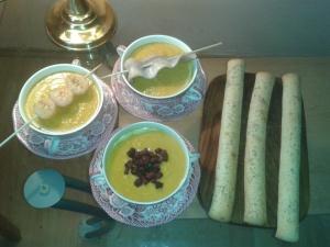 Karotten-Ingwer-Kokos Suppe